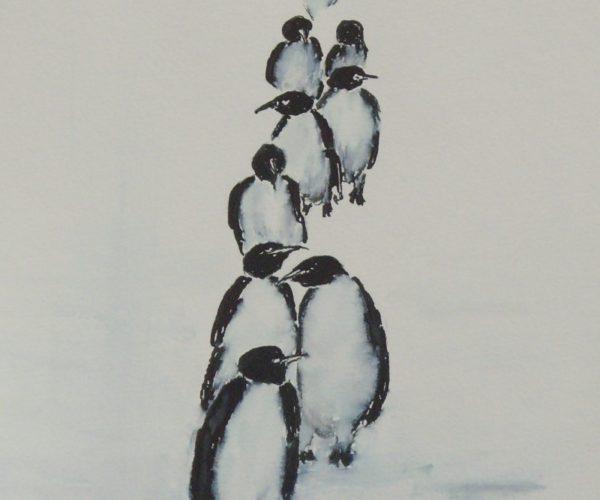 Pinguinwanderung